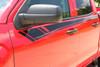 door of red NEW! Half Ton 1500 Chevy Silverado Top Stripes BREAKER 2014-2018