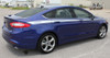 side angle of TOPSIDE : 2013-2018 Ford Fusion Upper Body Line Striping Kit