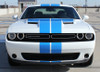 front of 2016 Dodge Challenger RT Decals WING RALLY 2015-2021