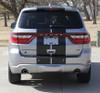 rear view of 2019 Dodge Durango SRT Stripes DURANGO RALLY 2014-2021