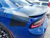 rear of blue 2020 Dodge Charger Trunk Stripes Daytona SRT 392 2015-2021