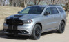 drivers angle of 2019 Dodge Durango SRT Decals DURANGO RALLY 2014-2020