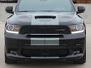 ported front bumper of 2019 Dodge Durango SRT Decals DURANGO RALLY 2014-2021