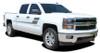 passenger Chevy Silverado Truck Bed Decals SPEED XL 2013-2016 2017 2018