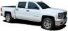 profile of Chevy Silverado Upper Body Graphic Stripes ELITE 2013-2018