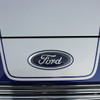 close up of 2013-2018 Ford Fusion Center Hood Wide Stripes OVERVIEW RALLY