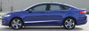 side of Ford Fusion Lower Rocker Graphic Stripes DAGGER 2013-2018