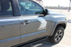 side angle of 2019 Toyota Tacoma Side Door Stripes STORM 2015-2020