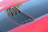 close up of 2019 SS Chevy Camaro Hood Stripe SHOCK HOOD 2019-2020