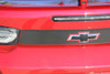 close up of red 2019 Camaro Rear Decals CAM TRUNK BLACKOUT 2019-2020 | FCD