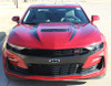 front of red SS Camaro Stripes WIDOW HOOD STRIPES 2019-2020