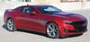 profile of red 2019 Chevy Camaro Side Door Stripes BACKLASH 2019-2020   FCD