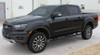 front angle of 2019 Ford Ranger Stripes UPROAR SIDE DECALS 2021 2020 2019