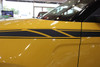 front of yellow 2022 2021 2020 Kia Soul Side Decals OVERSOUL