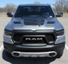 with 1500 Non-Rebel Hood for 2020 Ram 1500 Rebel REB HOOD Graphics 2019-2021