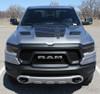 front view of 2020 Dodge Ram 1500 Rebel Truck REB HOOD Stripes 2019 2020 2021
