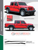 sales flyer for MEZZO SIDE KIT : 2020 Jeep Gladiator Side Decals Kit 2020-2021