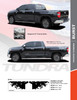 flyer for NEW! 2015-2021 Toyota Tundra Side Stripes BURST