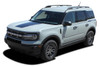 side angle NEW 2021 Ford Bronco Stripes RIDER SIDE 2021 and up All Models