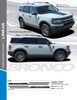sales info for 2021 Ford Bronco Side Stripes LINEAR SIDE 2021 and up All Models
