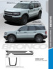 sales info for NEW 2021 Ford Bronco Hood Stripe Decals REVIVE HOOD All Models