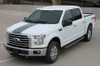 front angle 2017 Ford F 150 Graphics CENTER STRIPE 2015-2017