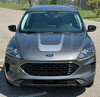 front of NEW! 2020 Ford Escape Hood Stripes EVADE HOOD 2020-2021
