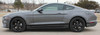 side of 2021 Ford Mustang Stripes SUPERSONIC KIT SOLID 2018 2019 2020 2021