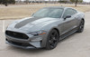 front angle of 2021 Ford Mustang Stripes SUPERSONIC KIT SOLID 2018 2019 2020 2021