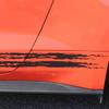 close up of 2017 Mustang GT Rocker Fading Stripes 15 BREAKUP 2015 2016 2017