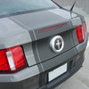 rear angle 2010 2011 2012 ford mustang pony center decals PONY CENTER