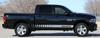 Side of black 2017 Ram Truck Stripes RAM ROCKER STROBE 2009-2019