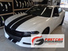 front angle of FAST! Widebody R/T Dodge Charger Stripes N-CHARGE 15 2015-2021