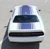 rear view 2020 R/T Dodge Challenger Stripes SHAKER 2015-2018 2019 2020 2021
