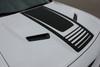 hood view FAST! Dodge Challenger Hood Stripes CUDA STROBE 2008-2021