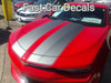 front angle of red Camaro Racing Stripes CAM SPORT PIN 2016 2017 2018