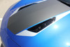 close up of hood 2016 2017 2018 Chevy Camaro Center Wide Stripes HERITAGE KIT