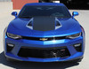 front view 2017 Chevy Camaro Wide Center Decals 3M HERITAGE 2016-2018