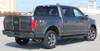 rear of grey 2017 Ford F150 Center Stripes BORDERLINE 2015-2019 2020