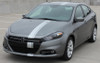 front view 2016 Dodge Dart Decals DARTING E RALLY 2013 2014 2015 2016