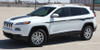 front of white profile of 2018 Jeep Cherokee Stripes CHIEF 2014-2018 2019 2020 2021