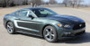 passenger side 2015 Mustang with Racing Stripes REVERSE 2015 2016 2017