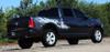 profile of black Vinyl Decals for Dodge Ram Truck Bed RAGE RAM 2009-2017 2018