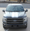front 2016 Ford F150 Rally Stripes F RALLY 2015-2017