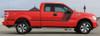 side view 2017 F 150 Hood & Side Graphics QUAKE 2009-2020