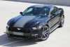 front angle 2017 Ford Mustang Bumper to Bumper Center Stripe CONTENDER