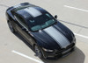 top front angle 2017 Ford Mustang Bumper to Bumper Center Stripe CONTENDER