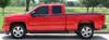 profile view of 2017 Chevy Silverado Vinyl Graphics BREAKER 2014-2018