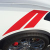 close up of 2018 Chevy Corvette Fender Stripes HASHMARK 2014-2019