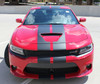 front of Wide Body Charger SRT 392 Stripes N CHARGE RALLY 15 2015-2021